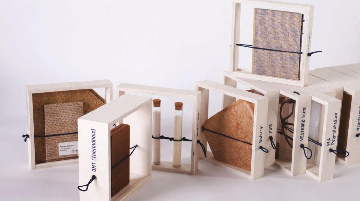 Materialarchiv ökologischer und nachwachsender Materialien