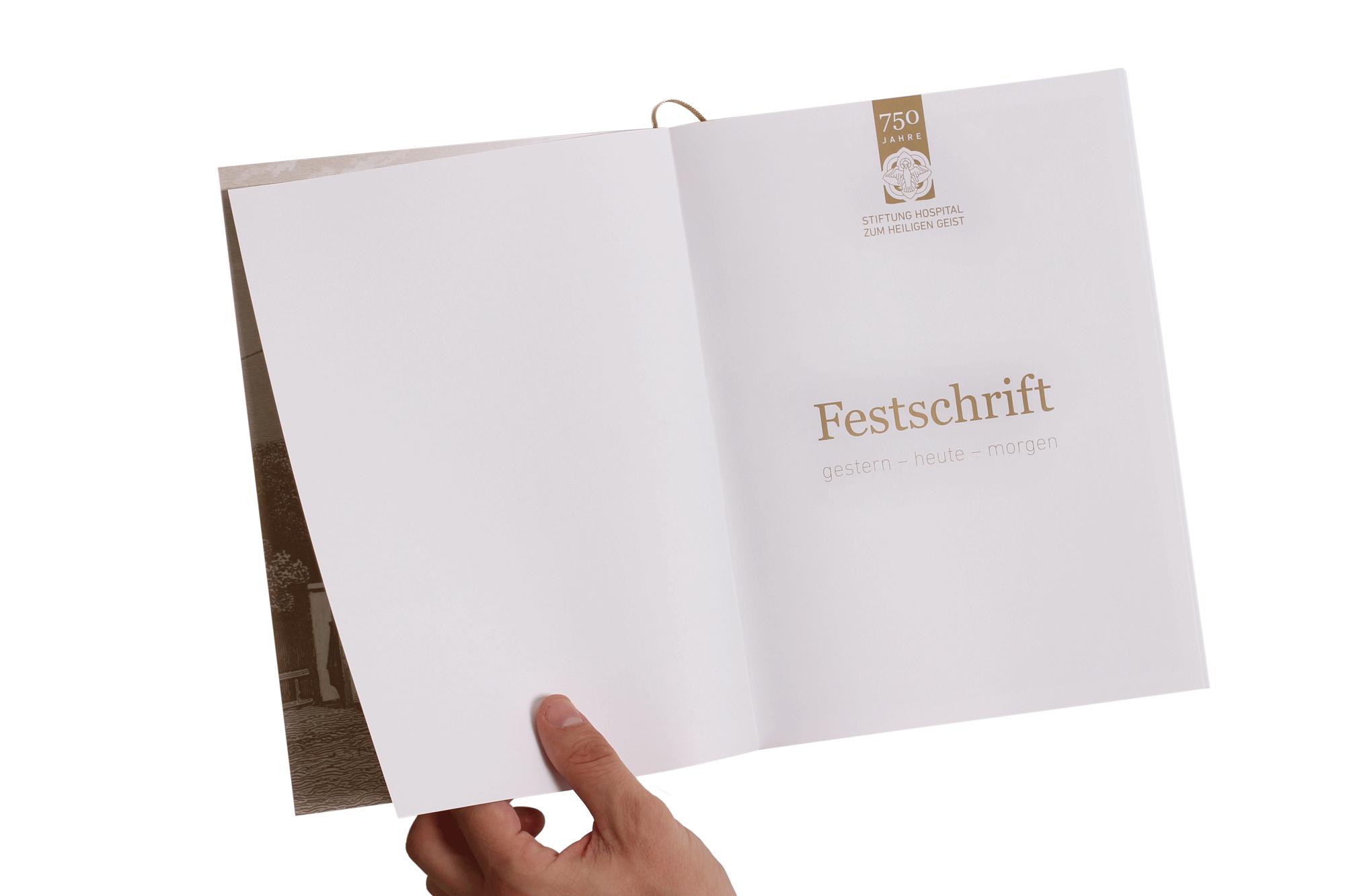 Festschrift 750 Jahre Stiftung